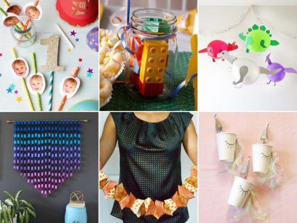 cómo decorar fiestas infantiles con materiales reciclados portada