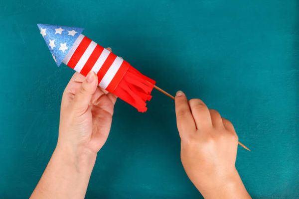 Como decorar nuestra casa para el dia de la independencia de los eeuu FOTOS cohete fuego artificial