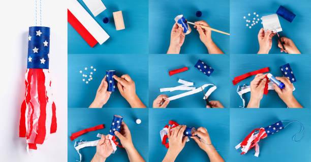 Como decorar nuestra casa para el dia de la independencia de los eeuu FOTOS cohete paso a paso