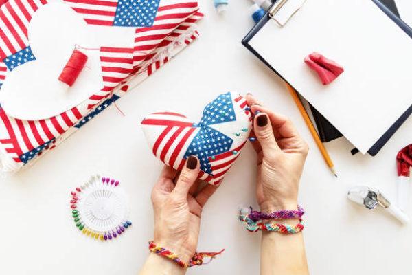 Como decorar nuestra casa para el dia de la independencia de los eeuu FOTOS corazon