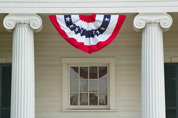 Como decorar nuestra casa para el dia de la independencia de los eeuu FOTOS feston casa