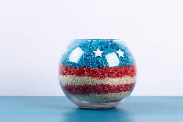 Como decorar nuestra casa para el dia de la independencia de los eeuu FOTOS jarron colores