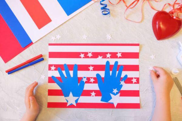 Como decorar nuestra casa para el dia de la independencia de los eeuu FOTOS manos