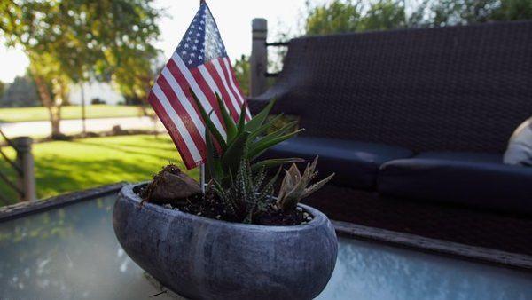 Como decorar nuestra casa para el dia de la independencia de los eeuu bandera americana