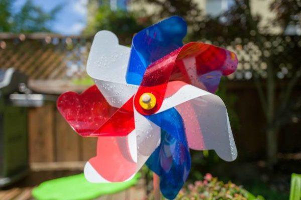Como decorar nuestra casa para el dia de la independencia de los eeuu molinillo viento