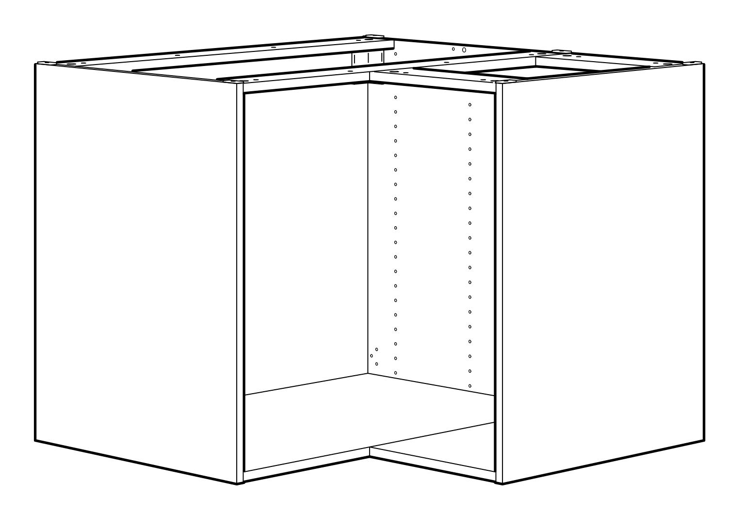 Cómo hackear un fregadero de esquina de IKEA de frente plano
