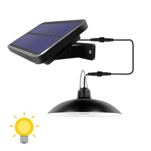Las mejores formas ideas para iluminar tu terraza sin contaminar La lámpara para cenador o pérgola