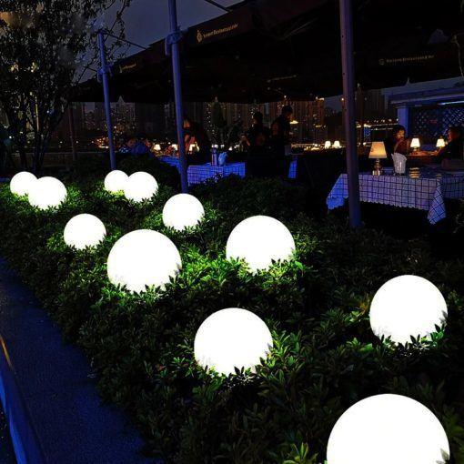 Las mejores formas ideas para iluminar tu terraza sin contaminar globos