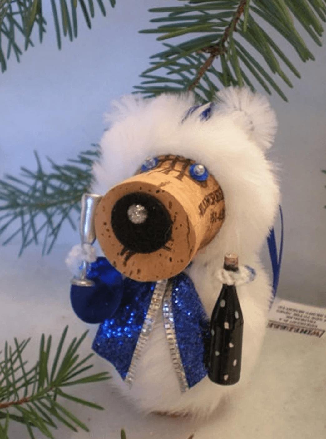 Ideas y consejos para hacer animales con corchos para niños perro bebedor