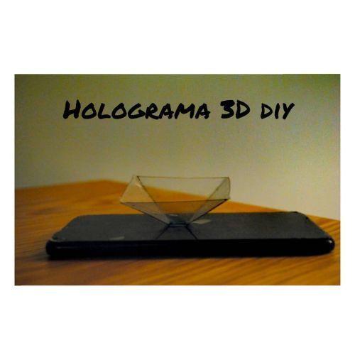Holograma DIY