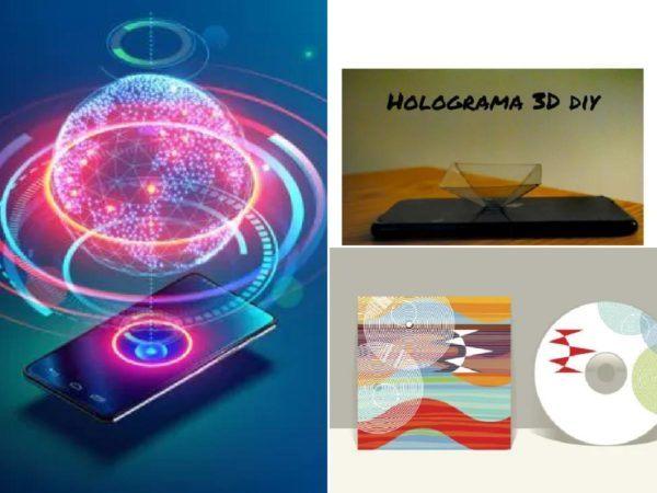Cómo hacer un holograma casero para el móvil con una carátula de CD