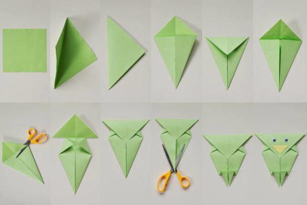 Las mejores ideas de origami para principiantes FOTOS animal