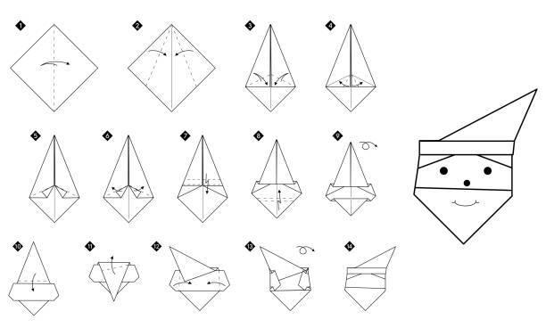 Las mejores ideas de origami para principiantes FOTOS muñeco