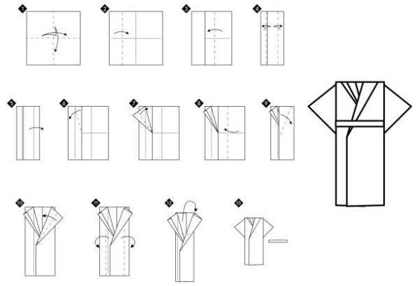 Las mejores ideas de origami para principiantes FOTOS traje