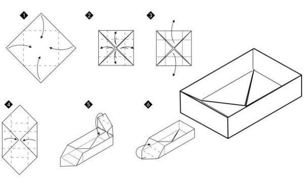 Las mejores ideas de origami para principiantes animales caja 3