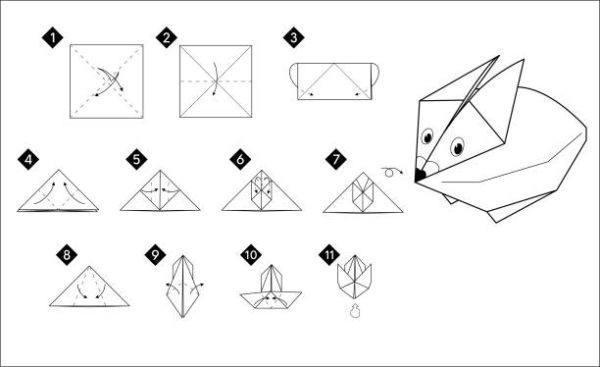 Las mejores ideas de origami para principiantes animales conejo