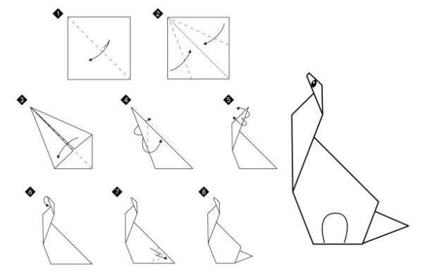 Las mejores ideas de origami para principiantes animales grulla