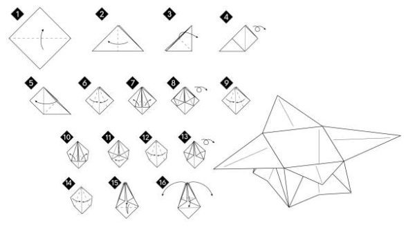 Las mejores ideas de origami para principiantes caja 2