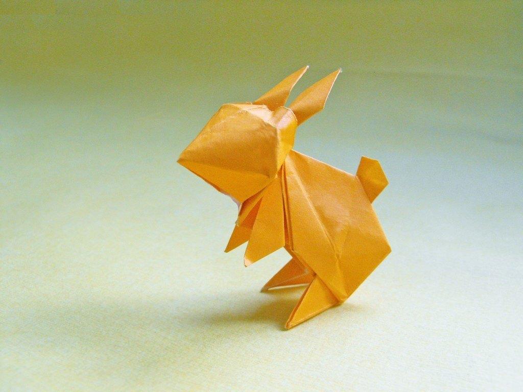 Las mejores ideas para expertos para hacer origamis FOTOS conejo