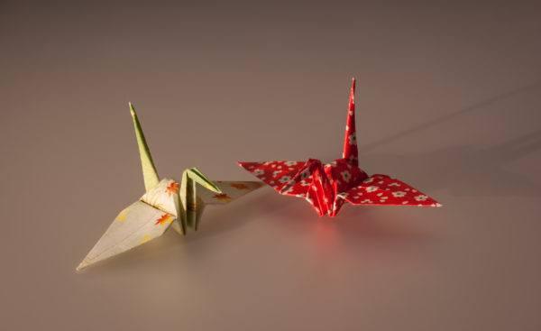 Las mejores ideas para expertos para hacer origamis FOTOS grulla