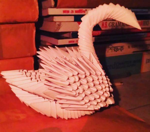 Las mejores ideas para expertos para hacer origamis cisne rosa