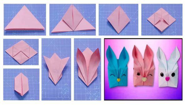 Las mejores ideas para expertos para hacer origamis conejo