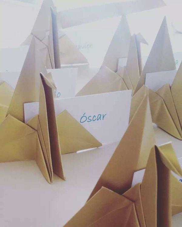 Las mejores ideas para expertos para hacer origamis decoracion mesa
