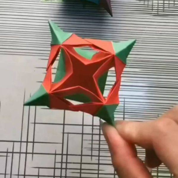 Las mejores ideas para expertos para hacer origamis estrella 3d
