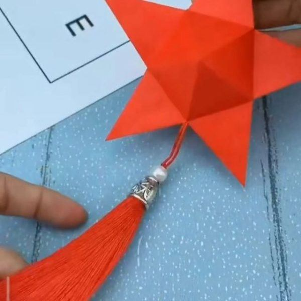 Las mejores ideas para expertos para hacer origamis estrella borla 3d