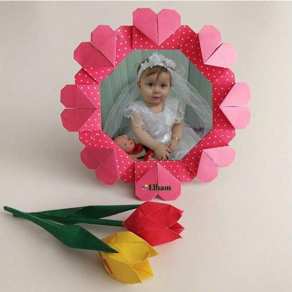 Las mejores ideas para expertos para hacer origamis marco fotos