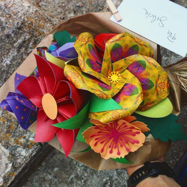 Las mejores ideas para expertos para hacer origamis ramo flores