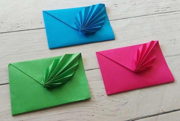Las mejores ideas para expertos para hacer origamis tarjeta