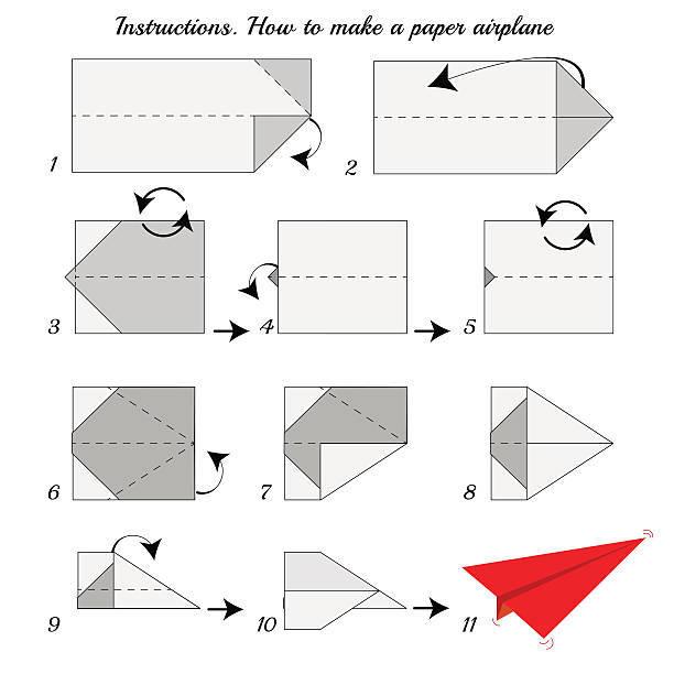 Los origami mas sencillos para hacer con personas mayores y celebrar el dia mundial del origami FOTOS avion