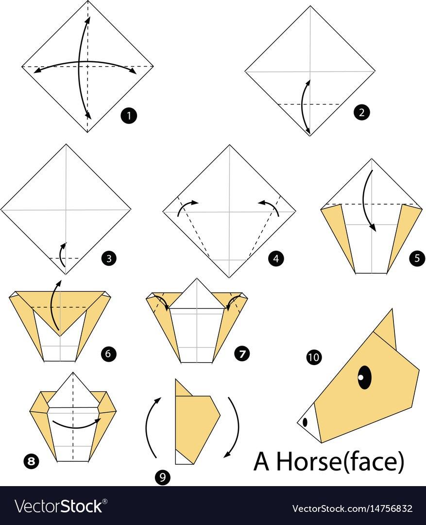 Los origami mas sencillos para hacer con personas mayores y celebrar el dia mundial del origami FOTOS caballo