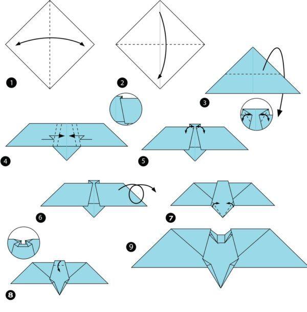Los origami mas sencillos para hacer con personas mayores y celebrar el dia mundial del origami batman