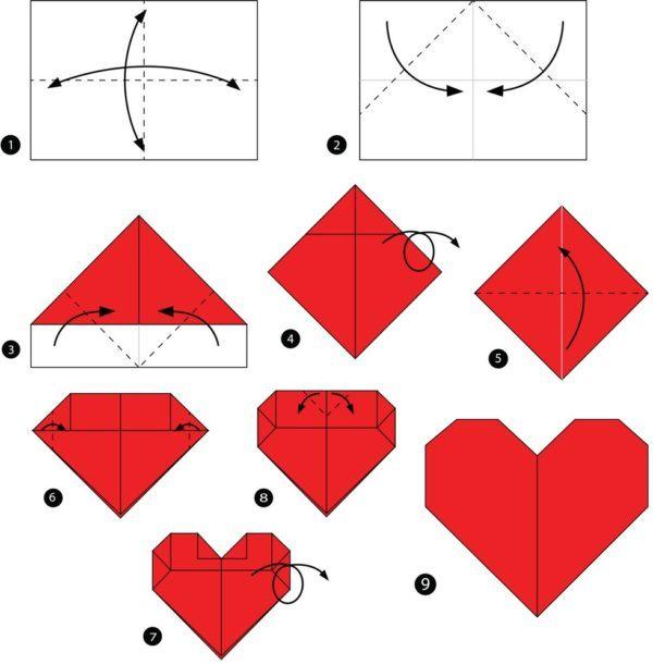 Los origami mas sencillos para hacer con personas mayores y celebrar el dia mundial del origami corazon