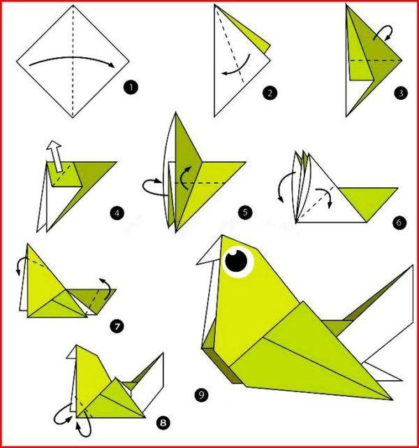 Los origami mas sencillos para hacer con personas mayores y celebrar el dia mundial del origami paloma