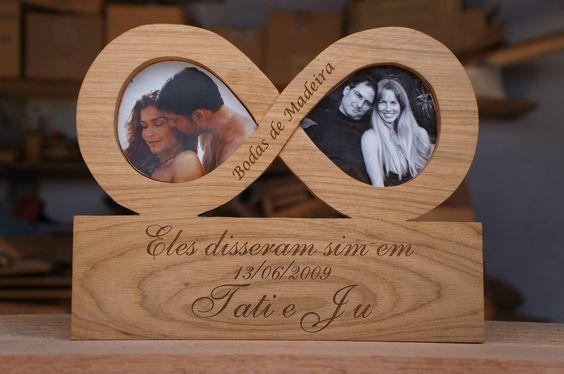 Las mejores ideas para hacer un regalo personalizado con madera para tu pareja infinito