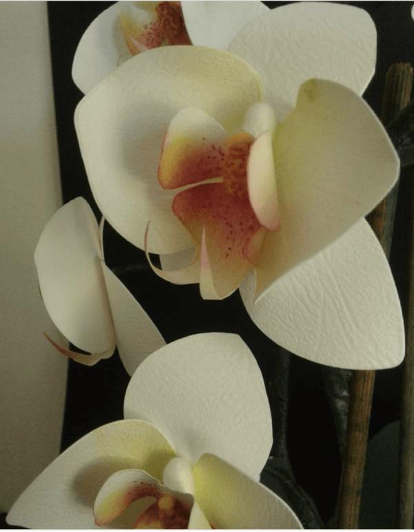 Las mejores ideas para hacer un regalo personalizado con papel para tu pareja flores realistas