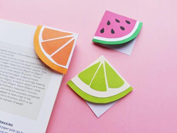 Las mejores ideas para hacer un regalo personalizado con papel para tu pareja marcapáginas