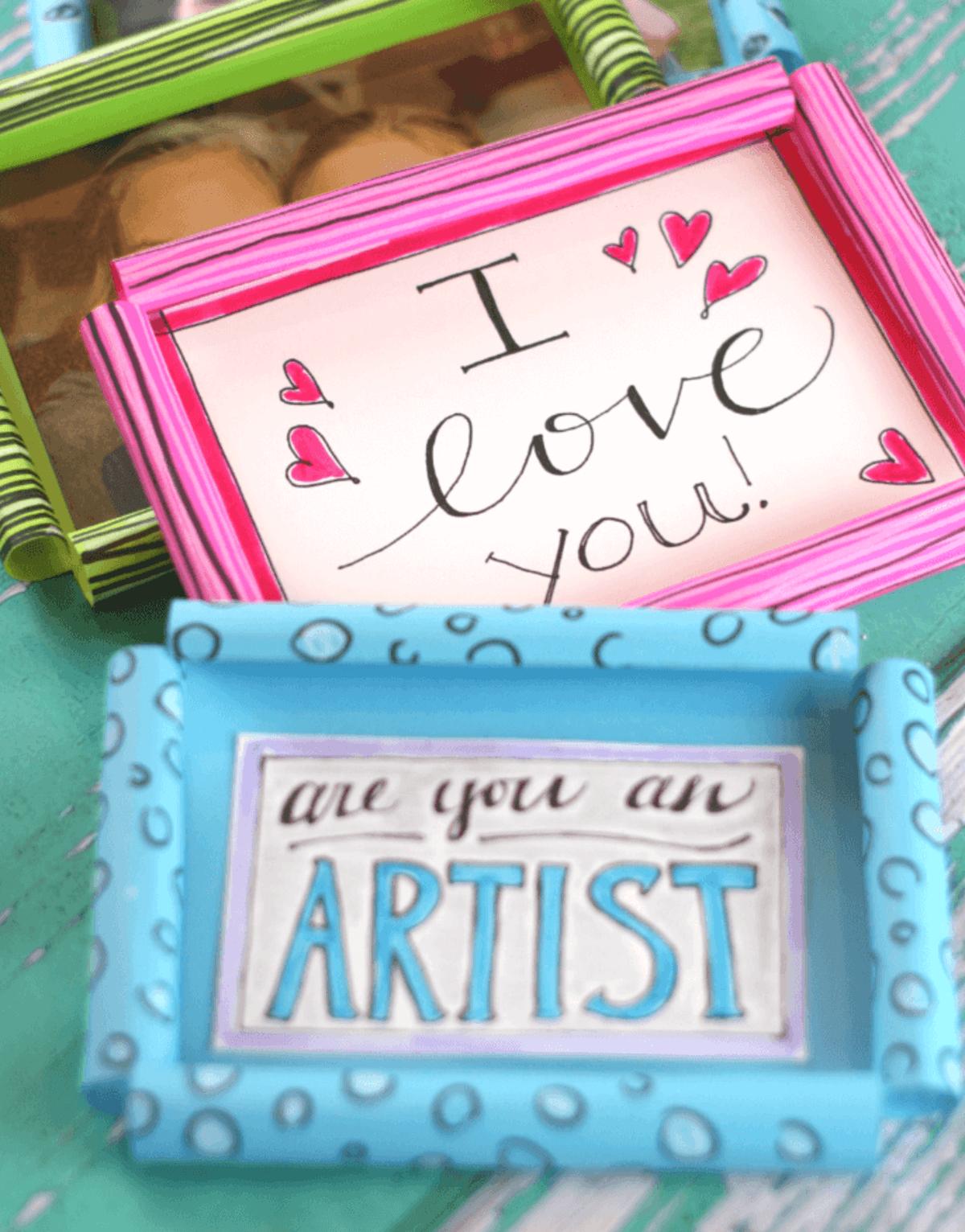 Las mejores ideas para hacer un regalo personalizado con papel para tu pareja cuadro
